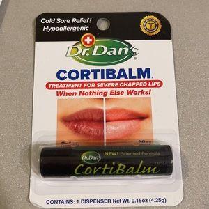 Dr. Dan's CortiBalm Lip Balm, 0.14 OZ